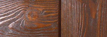 Брашированное дерево. Обкладка входной двери.