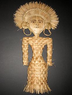 Богиня риса. Муляж декорация.